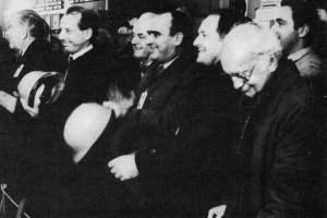Állami és erőműves vezetők. Fotó: Gottvald Károly/Tolna Megyei Népújság