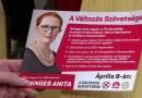 Heringes Anita az MSZP országgyűlési képviselő-jelöltje