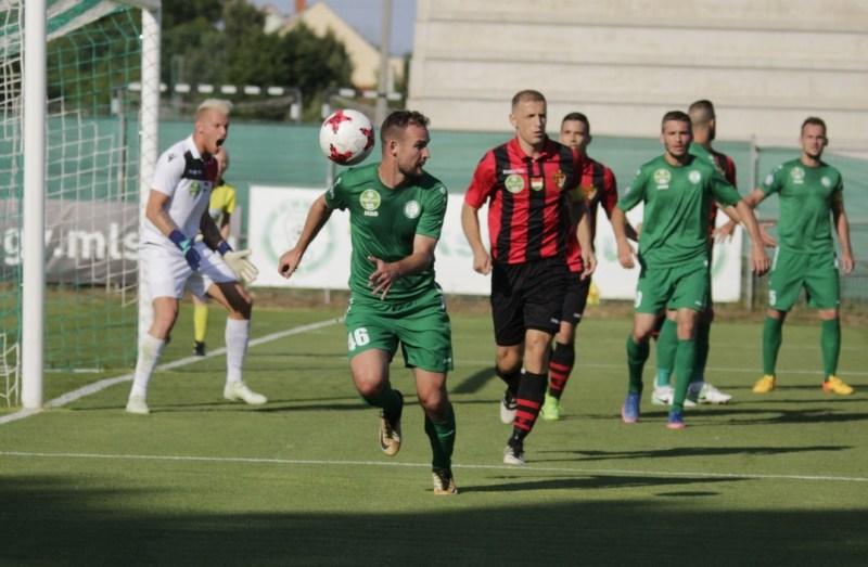 Paksi FC - Budapest Honvéd mérkőzés. Fotó: Molnár Gyula/Paksi Hírnök