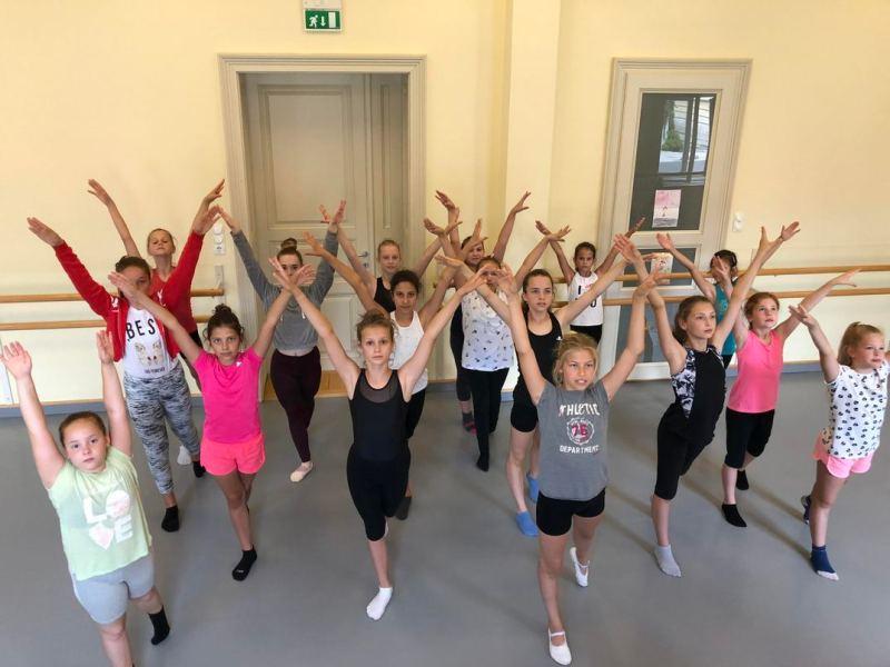 Második alkalommal rendeztek tánctábort az intézményben. Fotó: magánarchívum