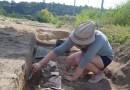 Idén is adott leleteket a római kori temető. Fotó: Paksi Városi Múzeum