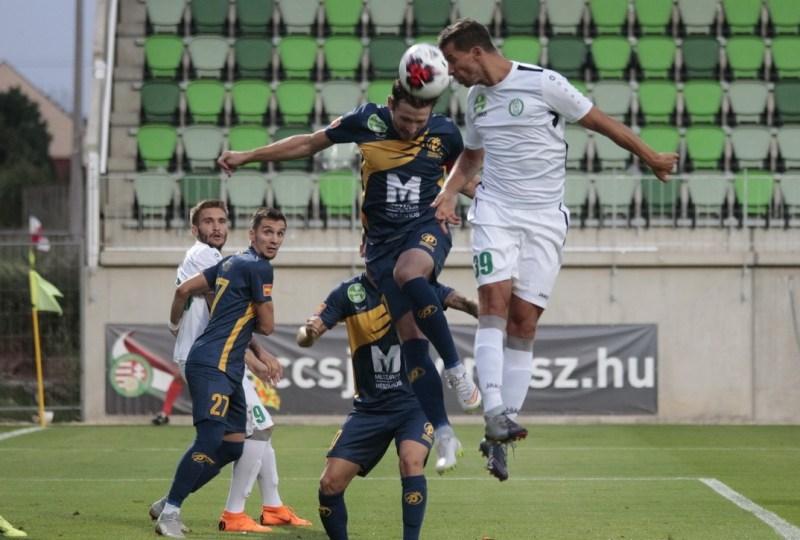 A Paksi FC a Puskás Akadémia FC-t fogadta a Fehérvári úti stadionban. Fotó: Molnár Gyula/Paksi Hírnök
