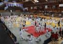 Népes mezőny állt tatamira az Atom Kupán. Fotó: Molnár Gyula/Paksi Hírnök