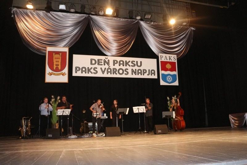 A Szaggató zenekar koncertje a galántai Paks napon. Fotó: Paksi Polgármesteri Hivatal