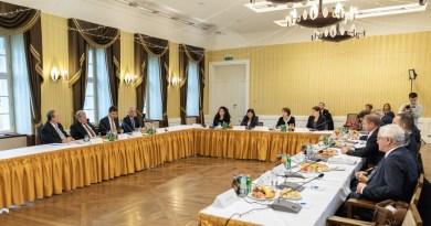 A költségvetési bizottság paksi kihelyezett ülése. Fotó: Paks II. Zrt.