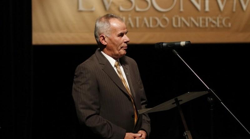 Karszt József kapta a Lussonium-díjat