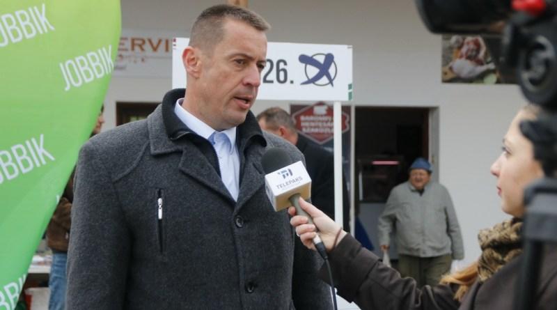 Sneider Tamás, a Jobbik elnöke. Fotó: Molnár Gyula/Paksi Hírnök