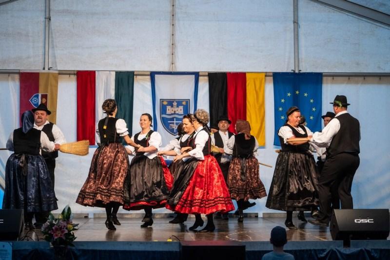 Pillanatkép a tavalyi német nemzetiségi napról. Fotó: Babai István/Paksi Polgármesteri Hivatal/archív