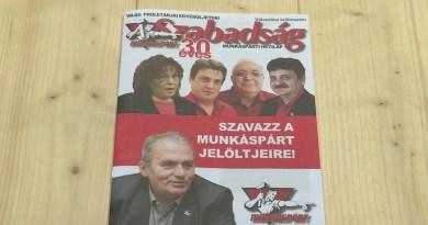Thürmer Gyula Pakson kampányolt