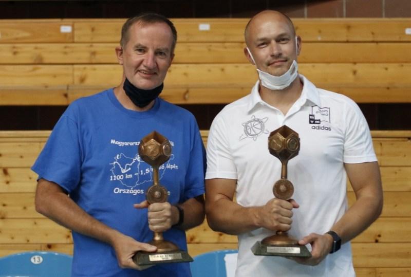 Jakab Albert (b.) és Jan Pavlik (j.). Fotó: Molnár Gyula/Paksi Hírnök