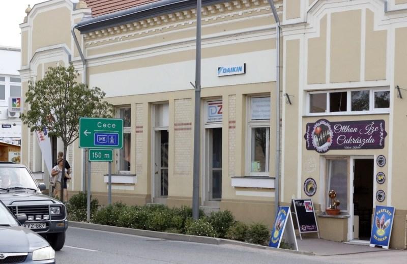 A védett épületek felújításával szépül a városkép is. Fotó: Molnár Gyula/Paksi Hírnök illusztráció
