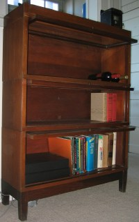 Antique Globe-Wernicke Lawyer's Bookcase - Dave's Archive ...