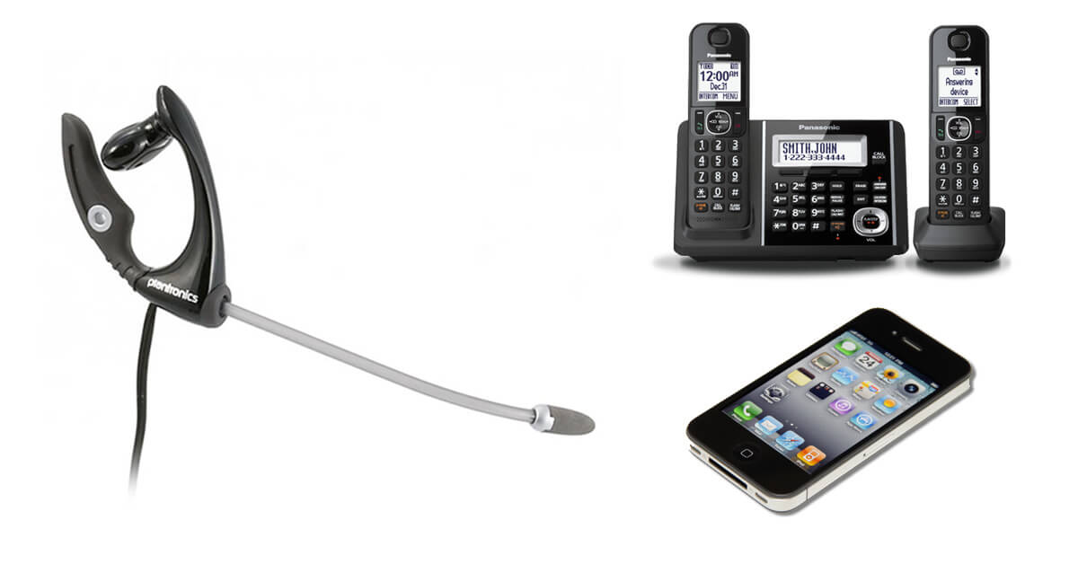 Plantronics MX500C Mobile Headset for Cordless and Mobile