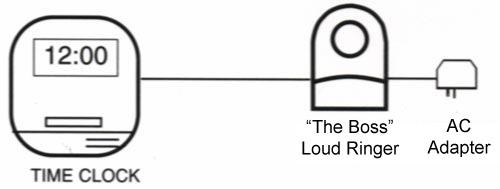 The Boss telephone paging system loud door ringer speaker