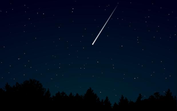 13 декабря на небе можно будет увидеть метеорный дождь