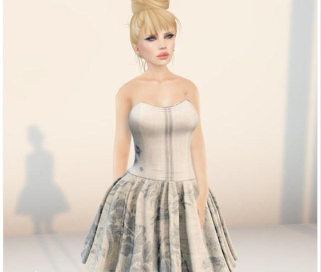 Notion Blue Dress Group Gift By Siss Boom Teleport Hub Teleporthub Com