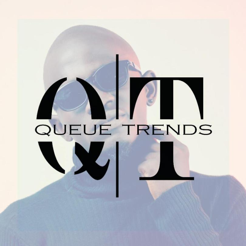 Jamil on advert sample for Queue Trends clothing line