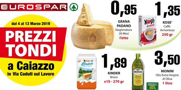 Goldem Market – Eurospar – Caiazzo CE