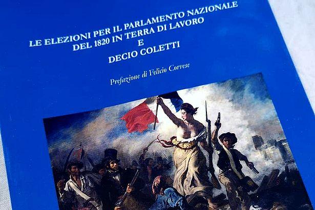 Castel Di Sasso. Presentato il volume su Decio Coletti dello scrittore caiatino Nicola Santacroce