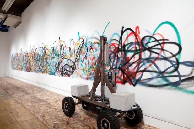 """Résultat de recherche d'images pour """"artistes et robots grand palais"""""""