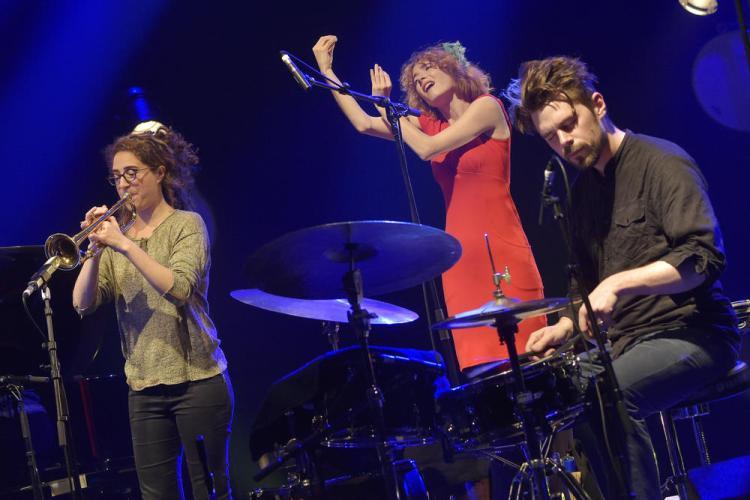 Airelle Besson performs live. Jazz sous les Pommiers 2017.