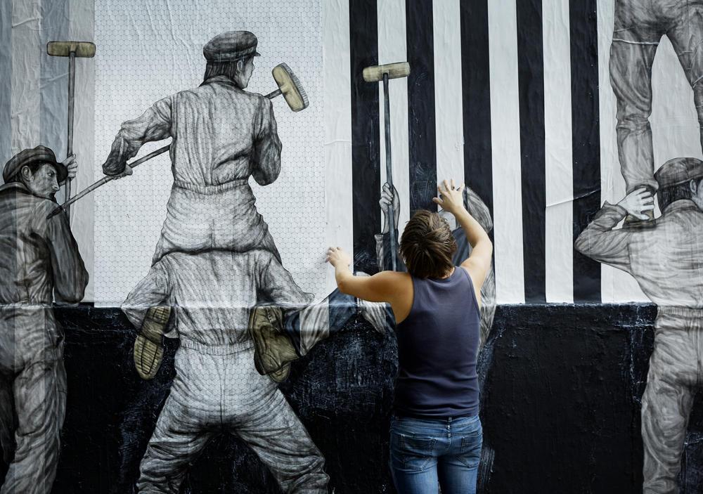 Le mur dOberkampf ce pari fou devenu une institution du street art parisien  Sortir Grand