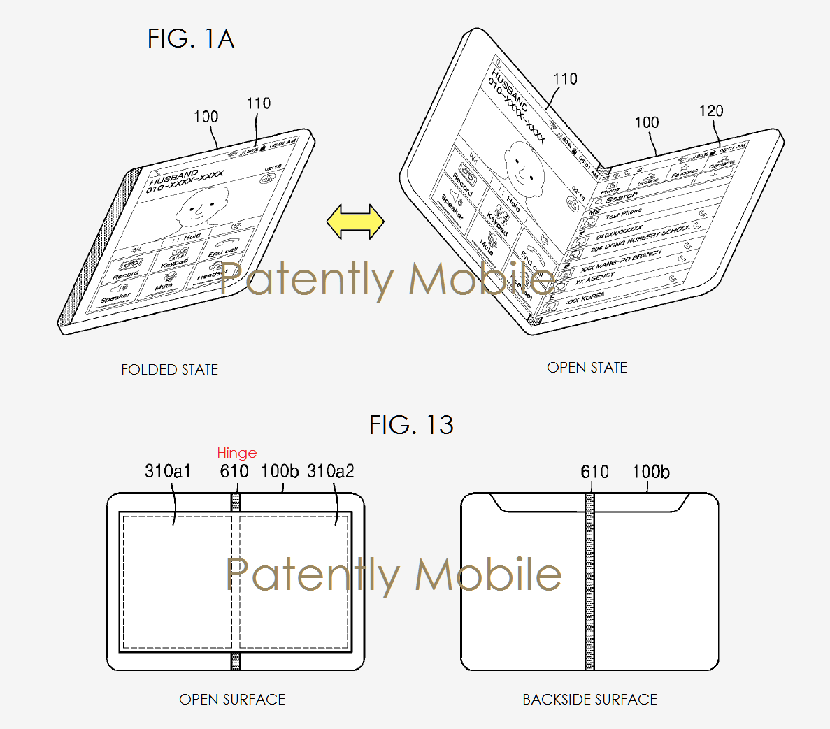Samsung patent filings promise e-reading on screens that