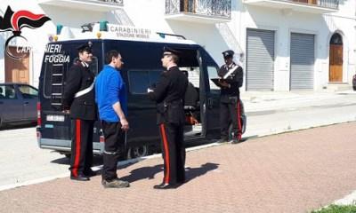 Carabinieri Mattinata