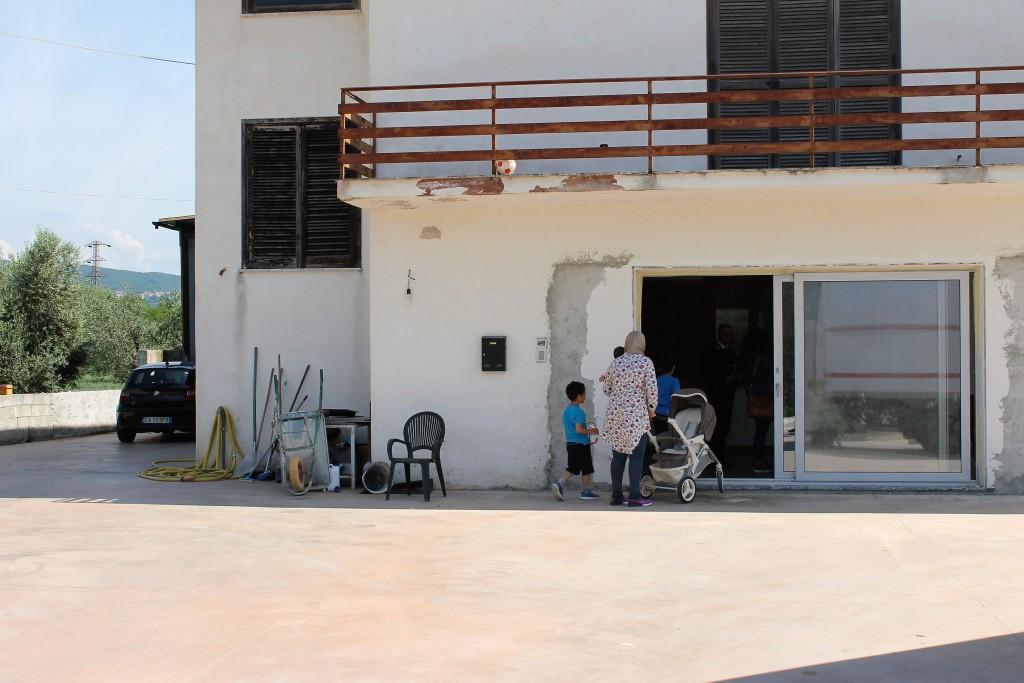 Casa allasta sfrattata a Venafro famiglia con tre bimbi