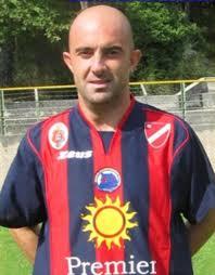 Stefano Di Fiordo, uno dei due responsabili della Scuola Calcio rosso-blu