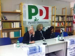 Sede Pd S. Marinella Senatrice Cirinnà, On. Marietta Tidei, Aldo Carletti