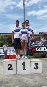 Campioni regionali MTB: Negossi, Mariuzzo, Gatti