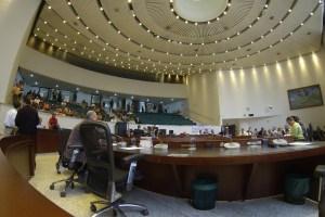 El recinto del Concejo, antes de la votación del proyecto de acuerdo 106. Imagen: Concejo de Medellín.