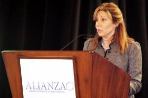 Marta Ochoa, directora ejecutiva de Alianza Contra la Piratería de TV Paga