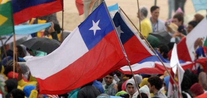 Bandera de Chile. Imagen: Semilla Luz/Flickr.