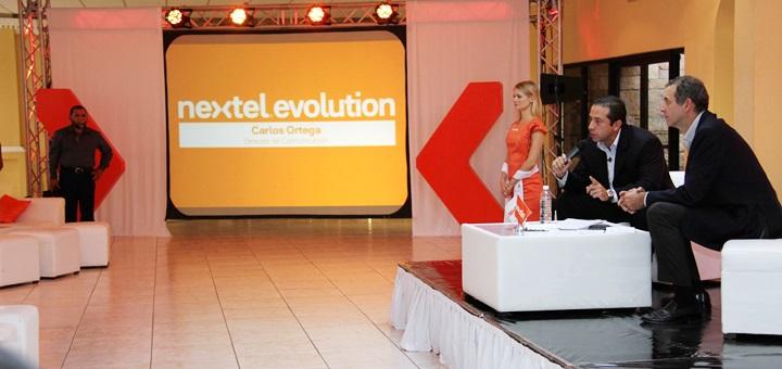 Lanzamiento de Nextel Evolution en Nuevo Laredo, México, en abril de 2013. Imagen: Nextel.