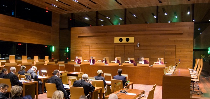 Imagen: Tribunal de Justicia de la Unión Europea.