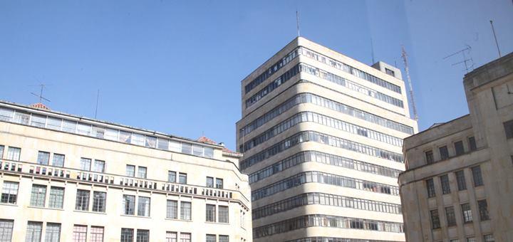 Centro de Bogotá. Imagen: Mintic