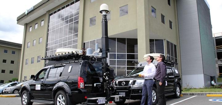 Unidades móviles de monitoreo de espectro. Imagen: Sutel