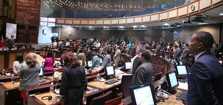 Pleno aprueba en segundo debate Ley Orgánica de Telecomunicaciones. Imagen: Asamblea Nacional de Ecuador