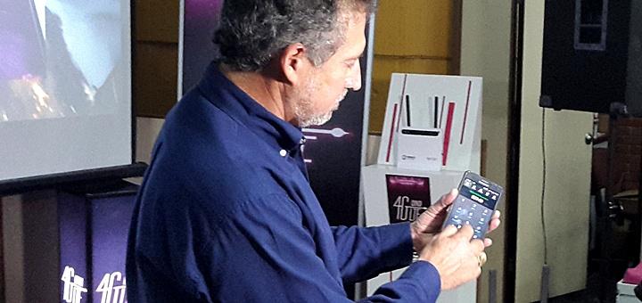 Presentación LTE de Copaco. Imagen: Copaco