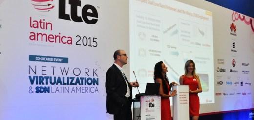 Presentación de Huawei durante el Foro LTE Latin America. Imagen: Huawei