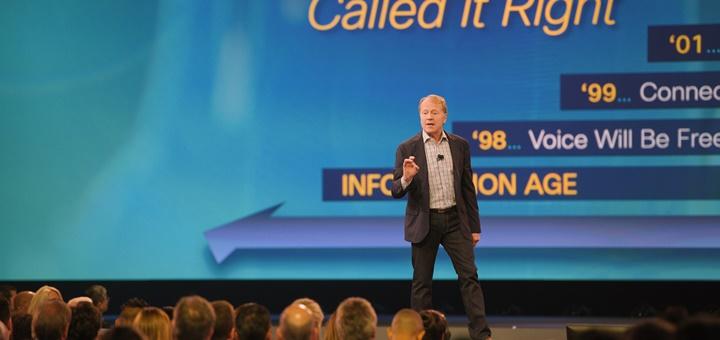 John Chambers en Cisco Live 2015. Imagen: Cisco