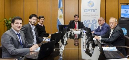 Reunión de directorio de Aftic. Imagen: Aftic