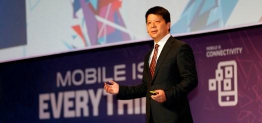 Guo Ping, deputy Chairman & CEO de Huawei. Imagen: Huawei