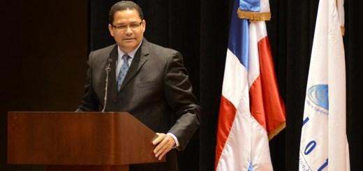 Gadeón Santos, presidente de Indotel. Imagen: Indotel.