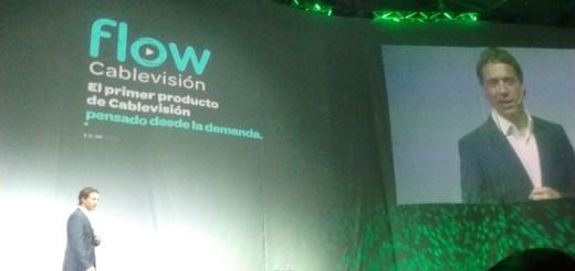 Gonzalo Hita, COO de Cablevisión en el lanzamiento de Flow. Imagen: TeleSemana.com