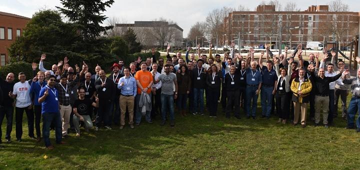 Grupo NFV Plugtest. Imagen: ETSI