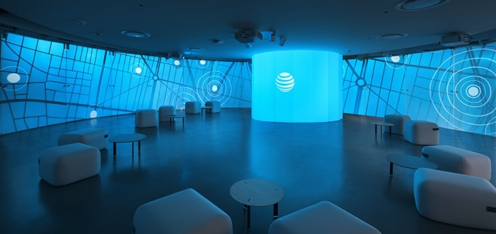 Centro de Experiencia Empresarial de AT&T. Imagen: AT&T.