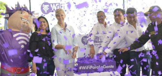 Colombia inaugura zonas Wi-Fi en Valle de Cauca. Imagen: Mintic.